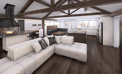 Architecture 3d montr al portfolio for Cuisine 3d quebec