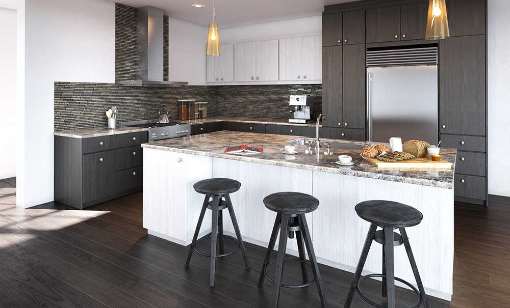 Architecture 3d montr al studio de rendu 3d for Armoire cuisine action boucherville