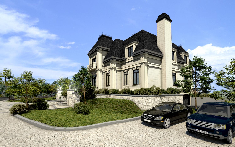 Architecture 3d maison maison moderne for Architecture 3d maison