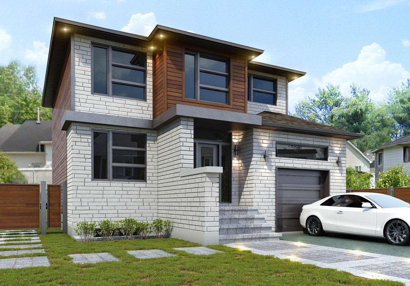 Maison 3d laval construction neuve for Decoration maison laval