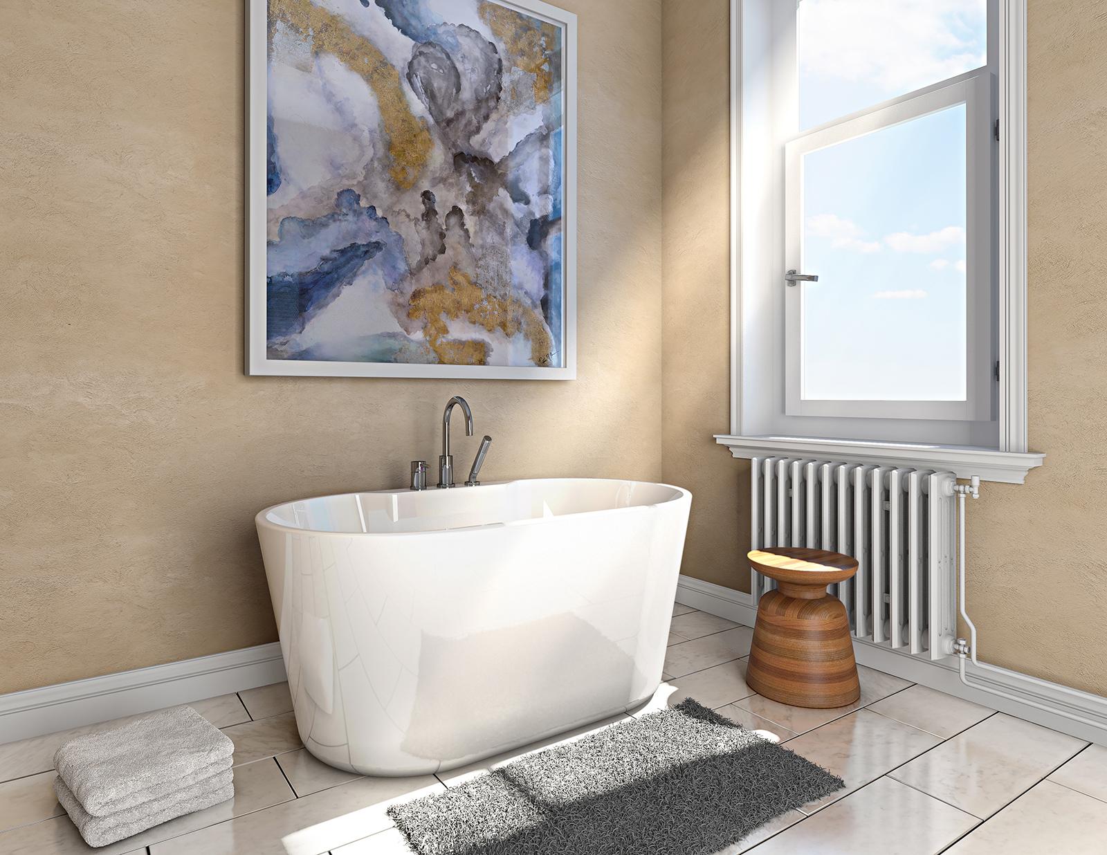 bain douche salle de bain bath shower 3d